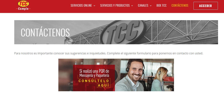 Servicio Al Usuario TCC Online