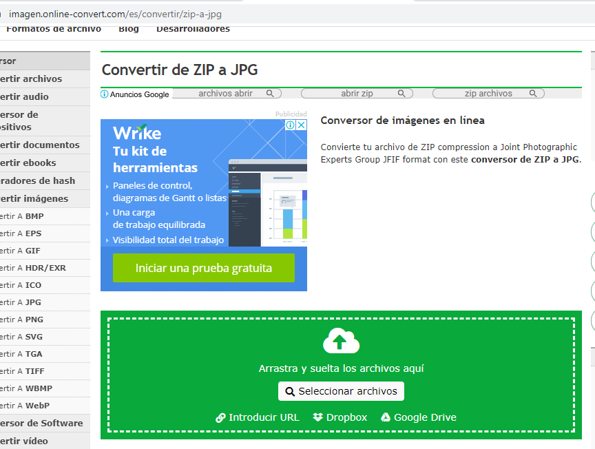 Cómo Convertir Un Archivo Zip A Jpg