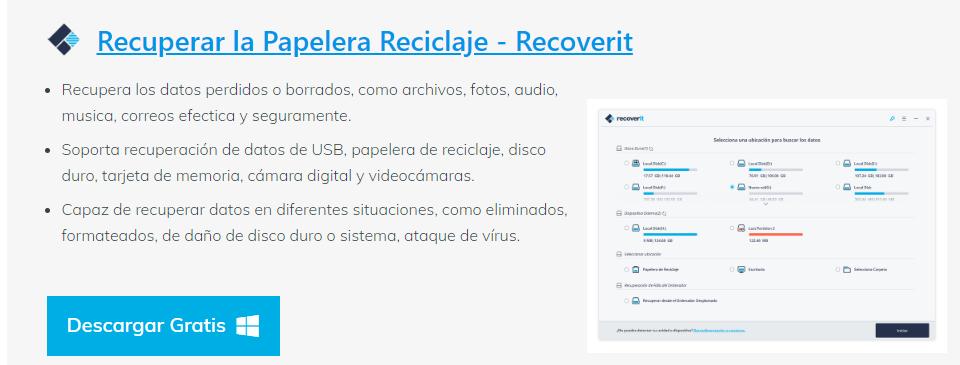 Recuperar Archivos Borrados De La Papelera Del Pc