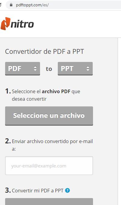 Cómo Pasar PDF A Powerpoint