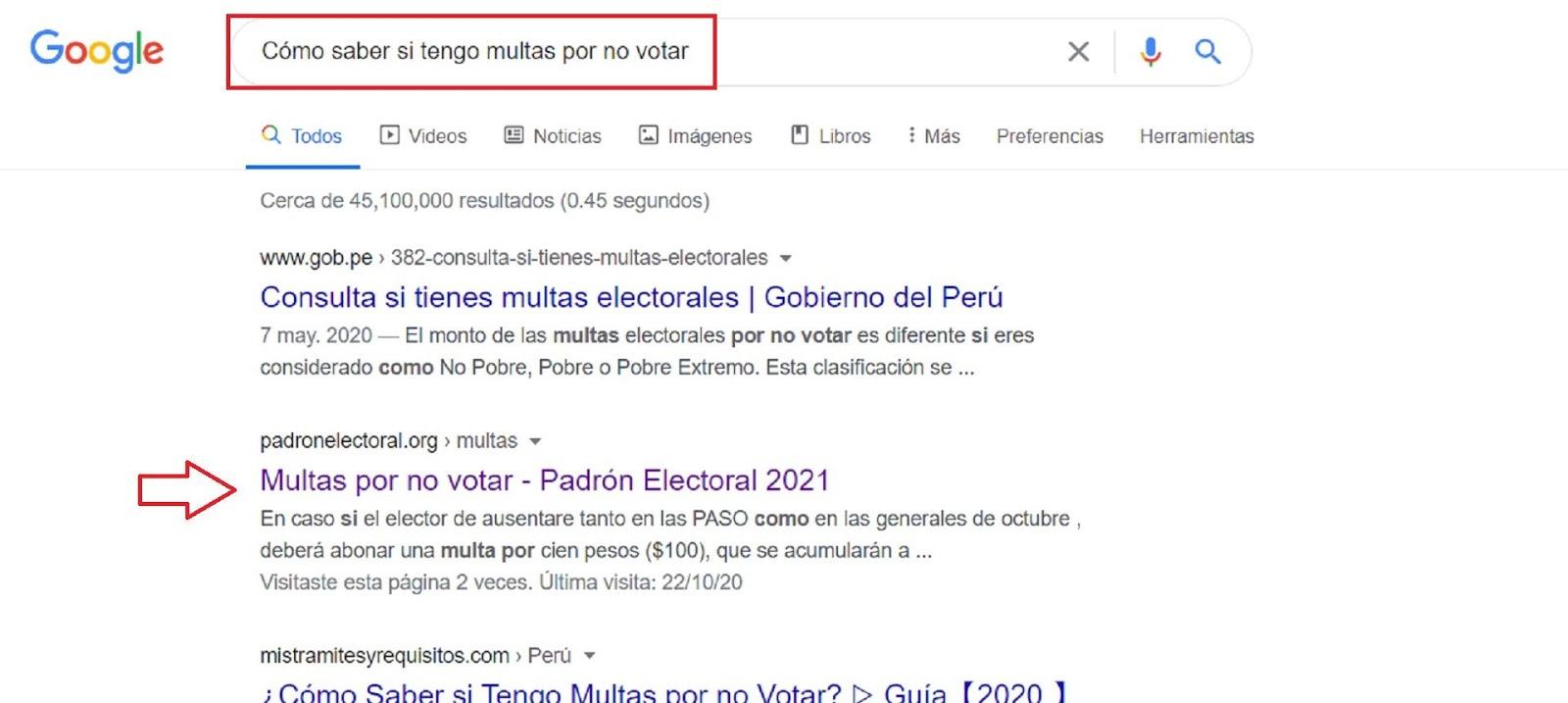 Como Saber Si Tengo Multas Por No Votar
